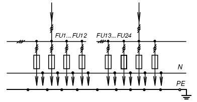 схема электрическая однолинейная гост
