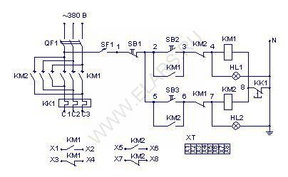 электрические схемы управления электроприводами